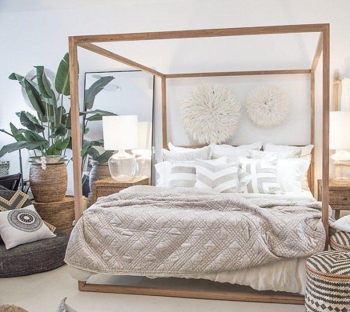 Dormitorio exotico