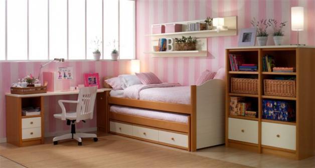 Dormitorios infantiles web de la casa - Dormitorios infantiles dos camas ...
