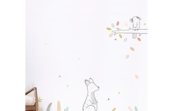 Vinilo infantil canguro