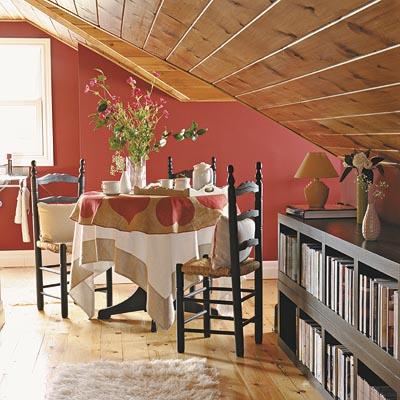 Distintos ambientes para la buhardilla web de la casa - Lamparas para buhardillas ...