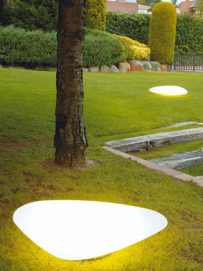 Luz para el jardín