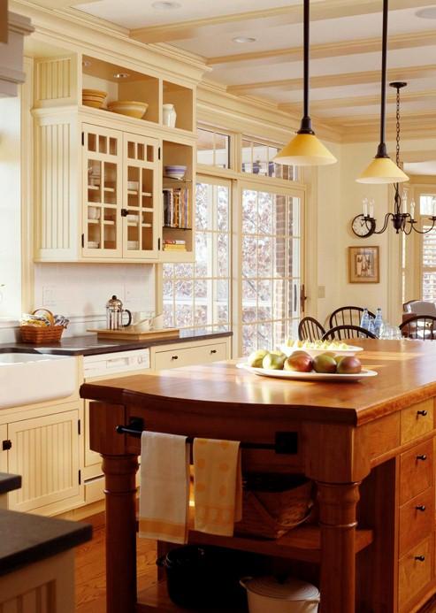 Fotos de cocinas de dise o web de la casa for Cocinas estilo ingles decoracion