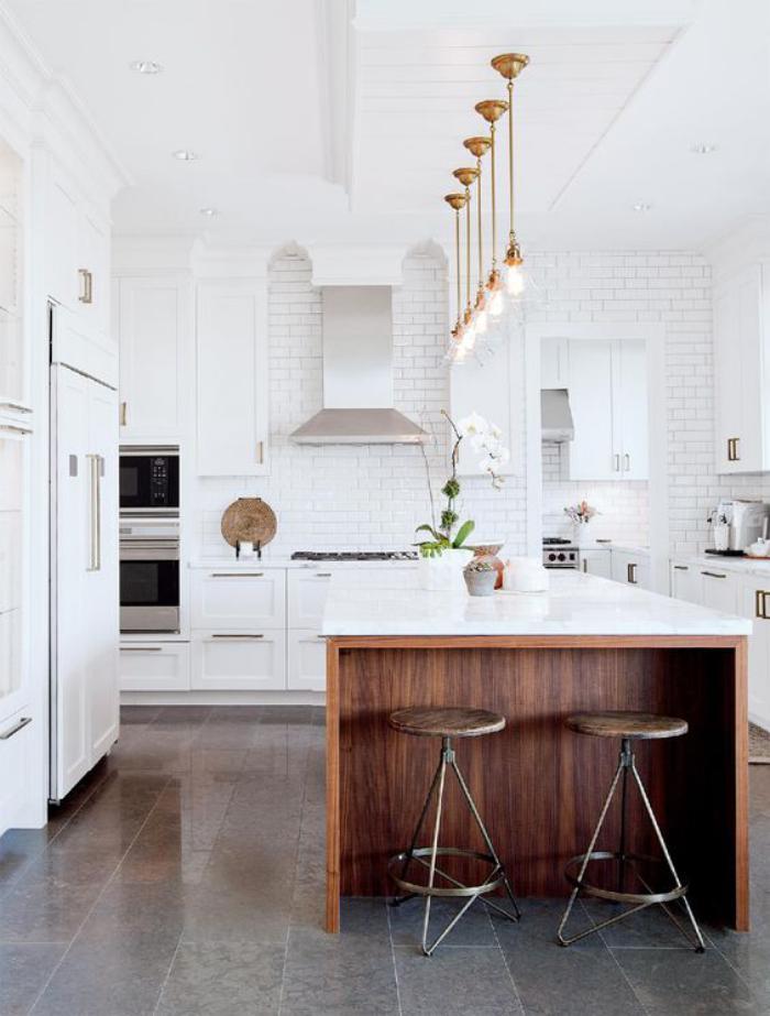 Cocinas c lidas y luminosas web de la casa - Luz para cocinas ...