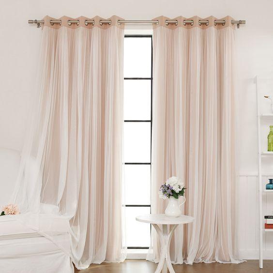 Las cortinas m s rom nticas para una habitaci n de ensue o - Cortinas habitacion ...