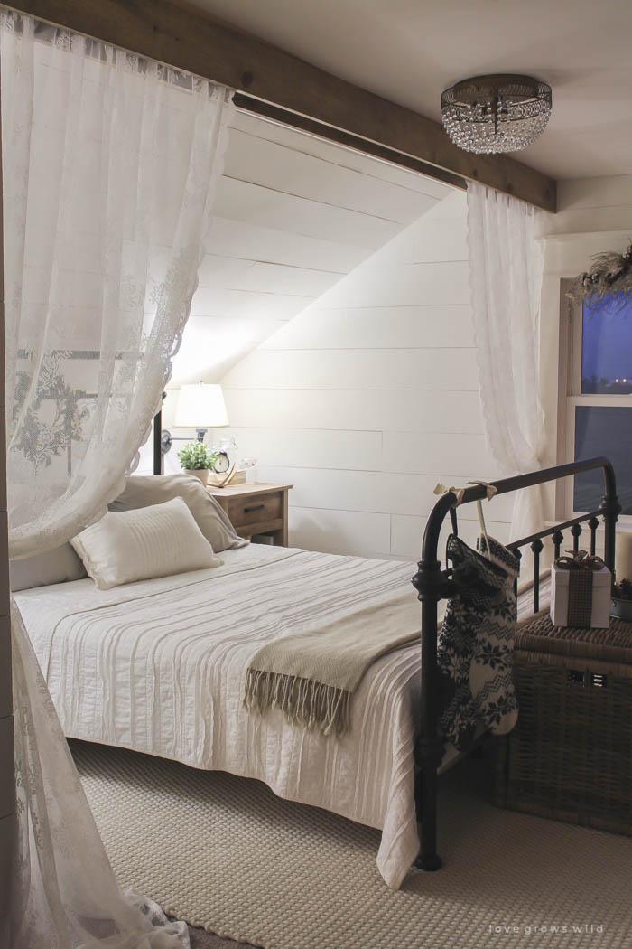 Las cortinas m s rom nticas para una habitaci n de ensue o - Cortinas para la habitacion ...