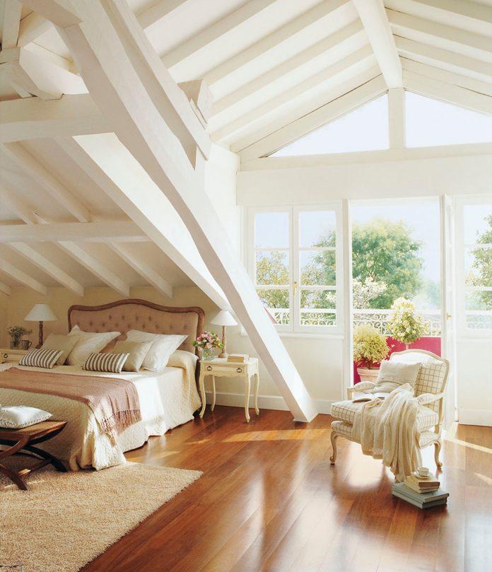 Dormitorio moderno con encanto