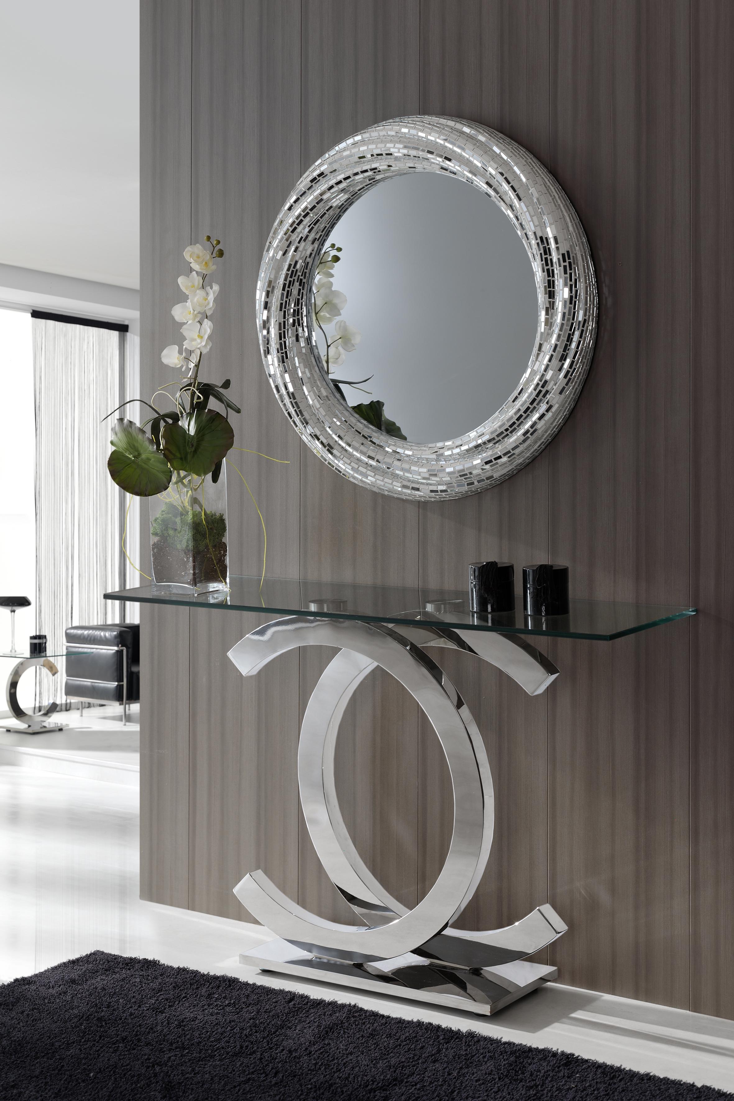 M s de 30 recibidores para embellecer la entrada de tu for Muebles de entrada modernos