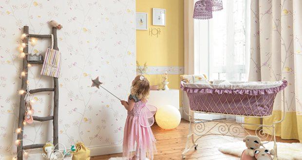 Papel pintado infantil para crear una habitaci n de - La casa del papel pintado ...