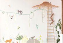 Mural infantil animales