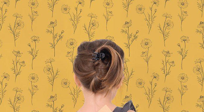 Papel pintado con flores
