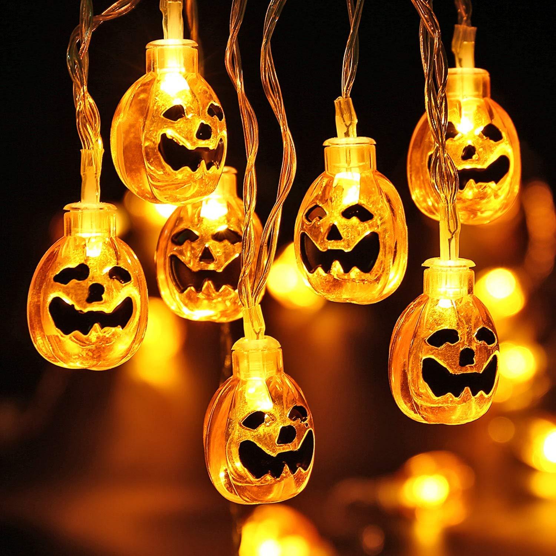 Luces Halloween calabaza