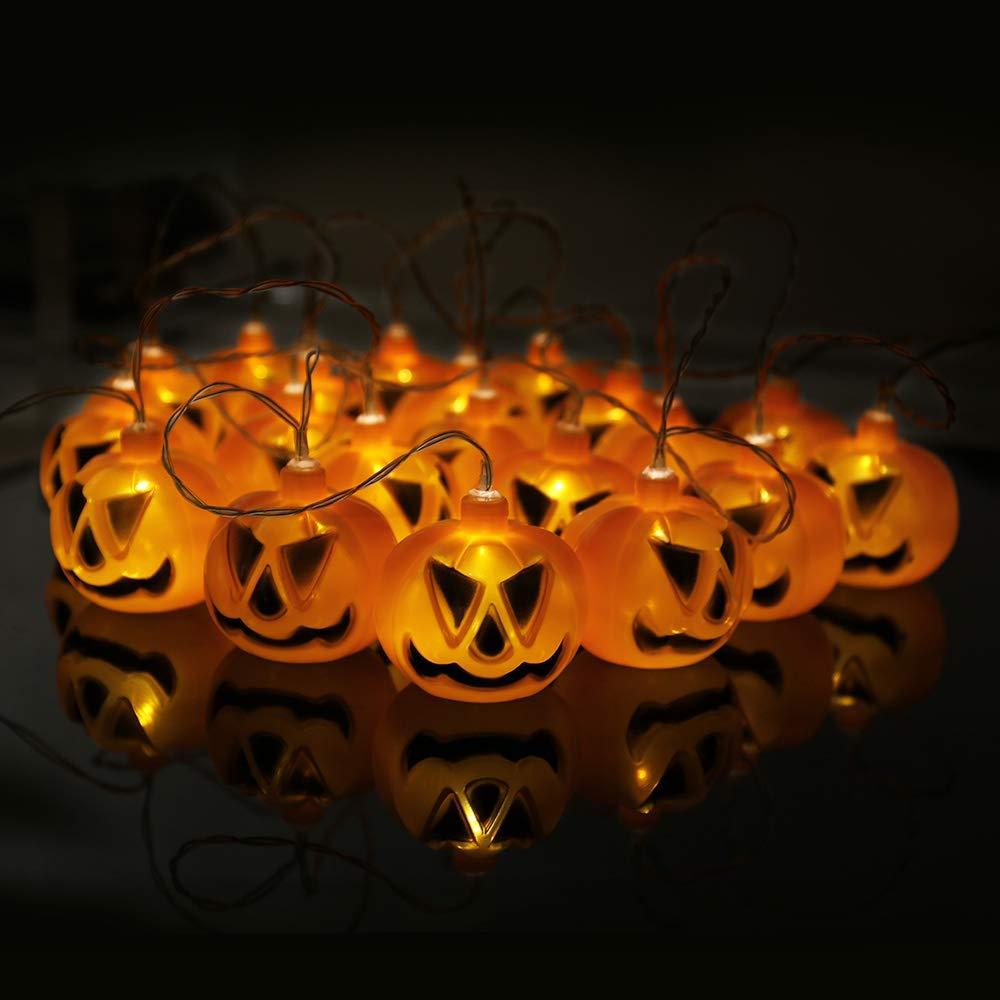 Luces Halloween de calabaza