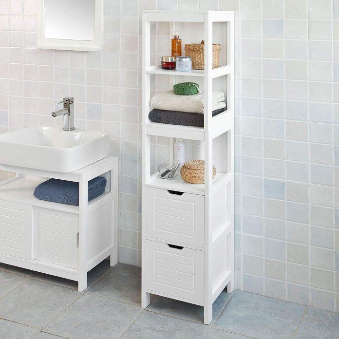 Armario baño alto