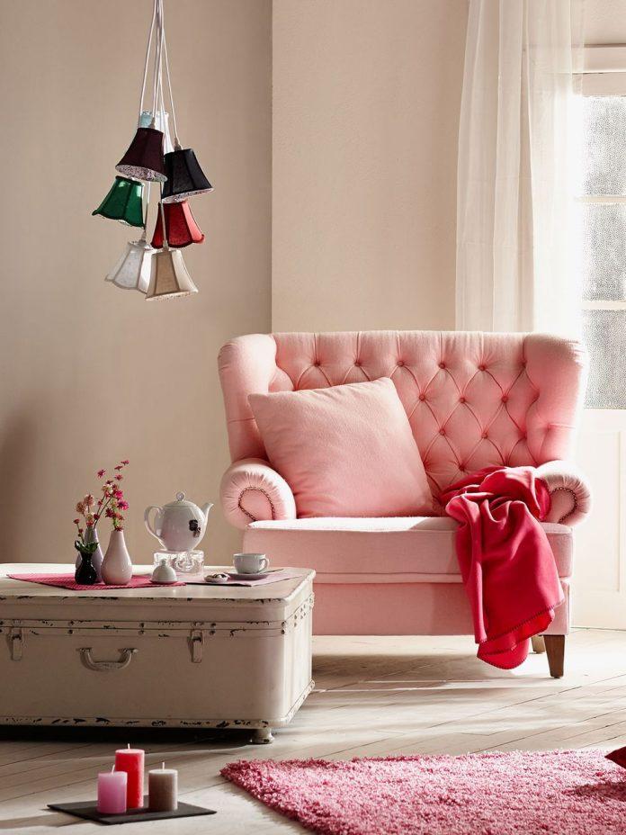 Butaca rosa