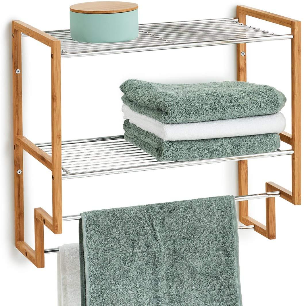 Estantería baño y toallero