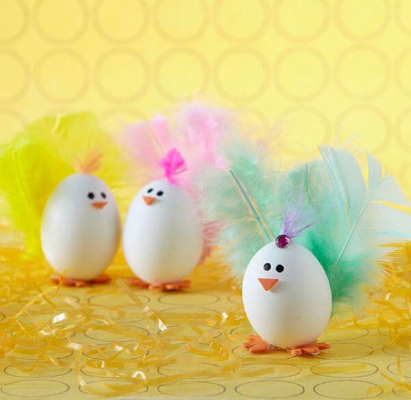 Huevos de Pascua Pavos reales