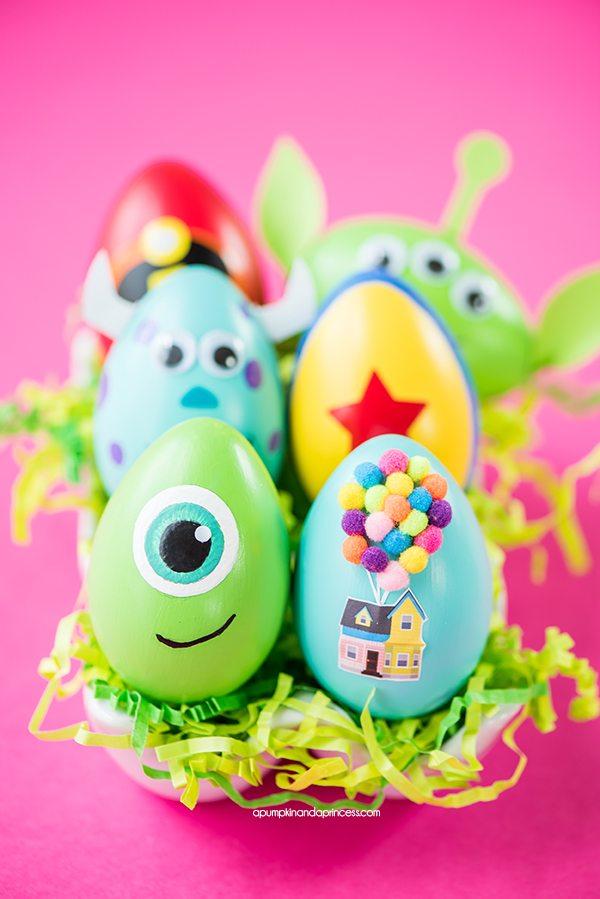 Huevos de Pascua Disney Pixar
