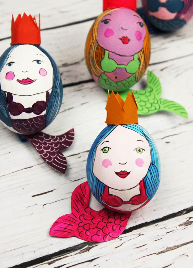 Huevos Pascua Sirenas