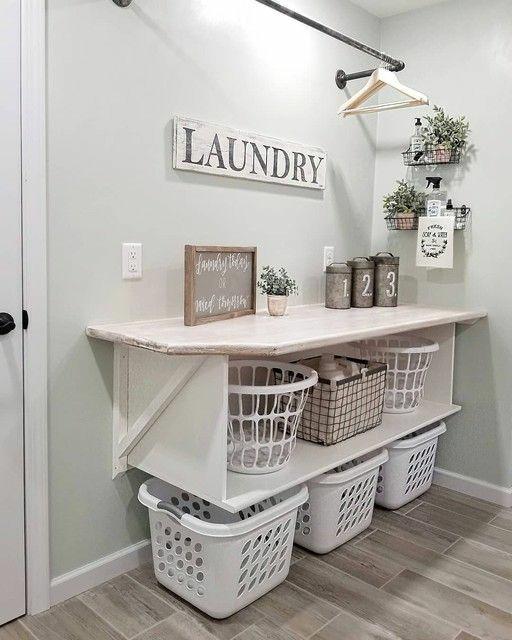 Ideas para organizar cuarto de lavado