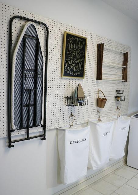 Ideas para organizar el cuarto de lavado